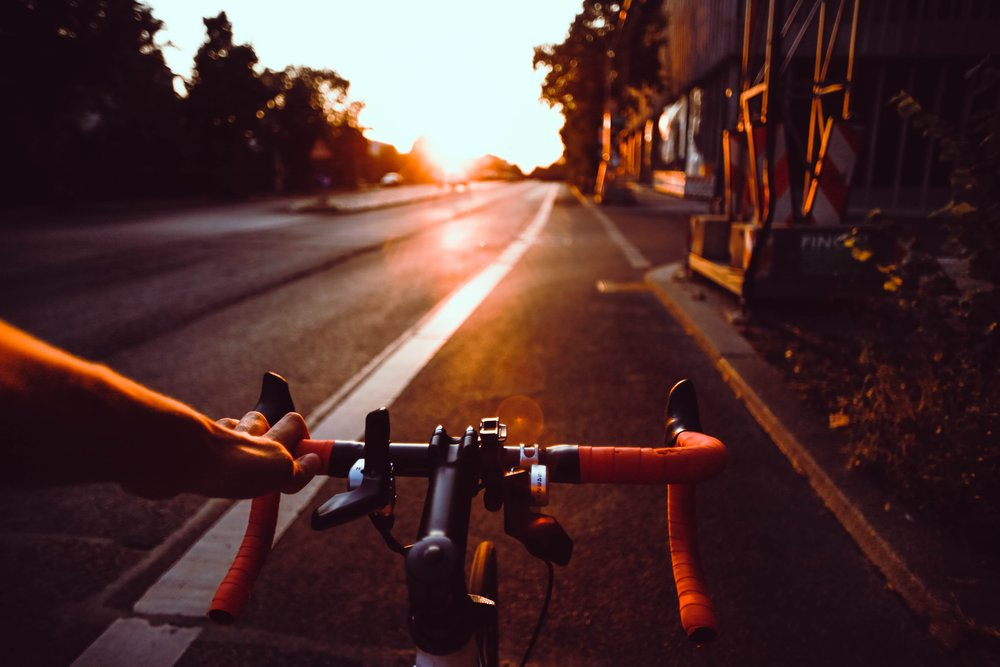 'Life is like riding a bicycle, in order to keep your balance you must keep moving' - Albert Einstein