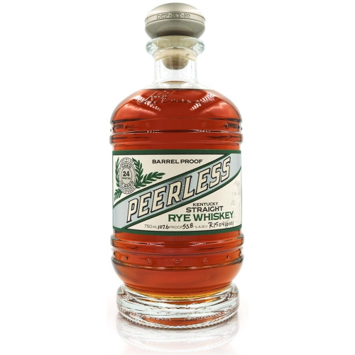 PEERLESS STRAIGHT RYE WHISKEY - SALE PRICE: $85.99 (SOLD OUT)REG. PRICE: $119.99