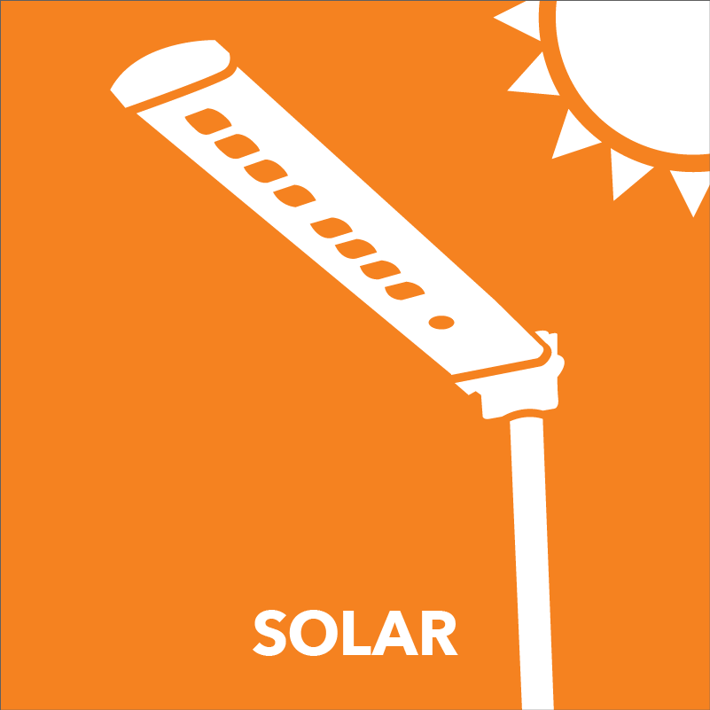 LED solar greentek