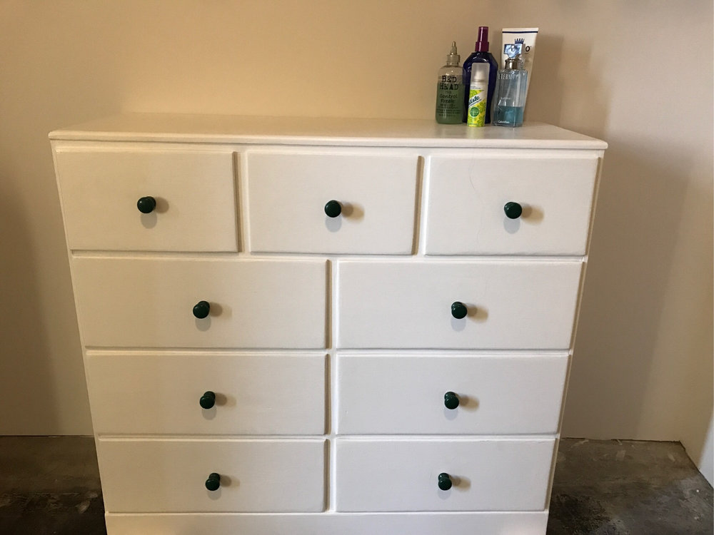 mattie's dresser