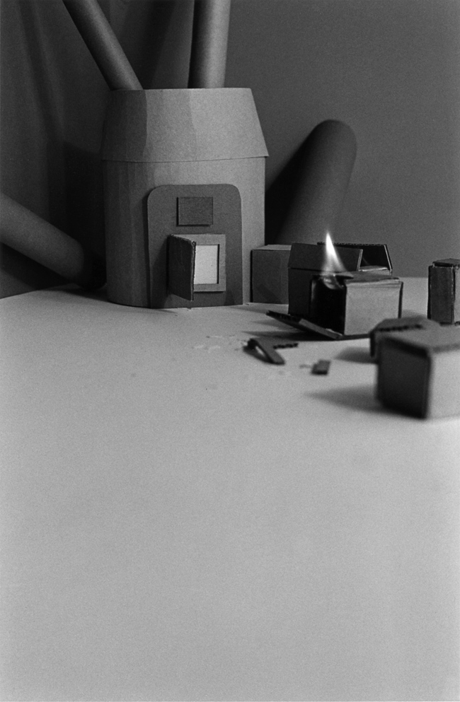 Furnace with Flame , 1976