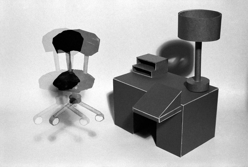 Desk and Chair , 1977