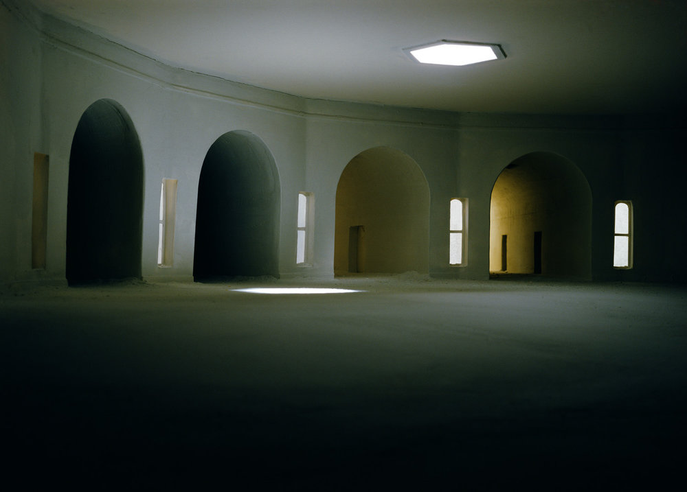 Converging Hallways from Left , 1997