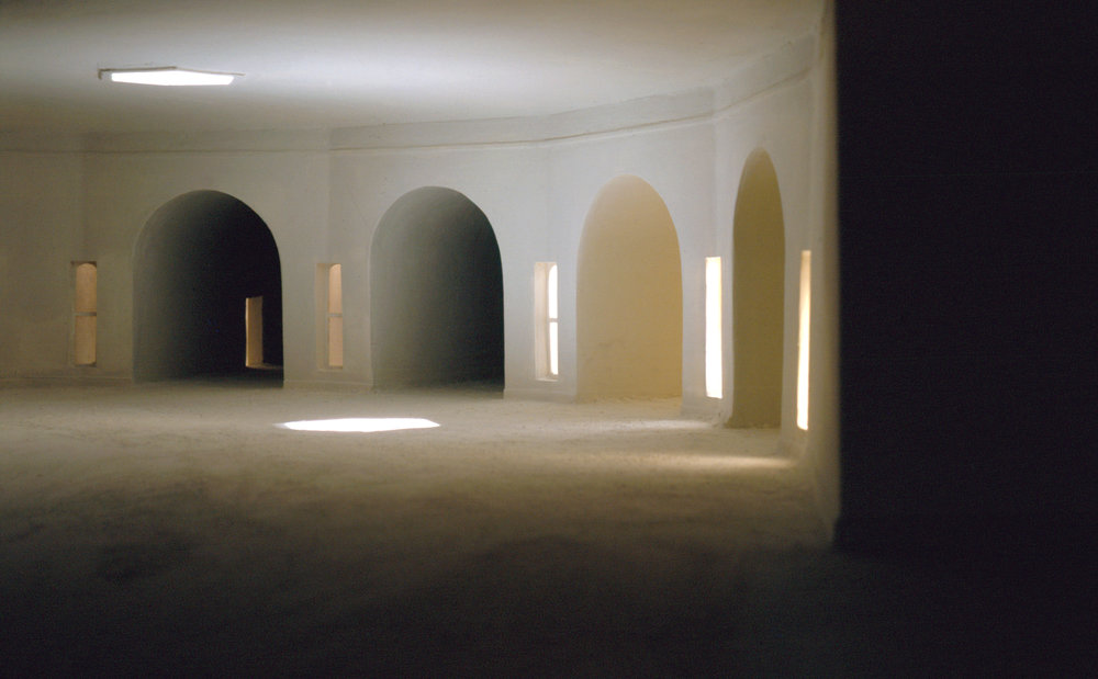 Converging Hallways from Right , 1997