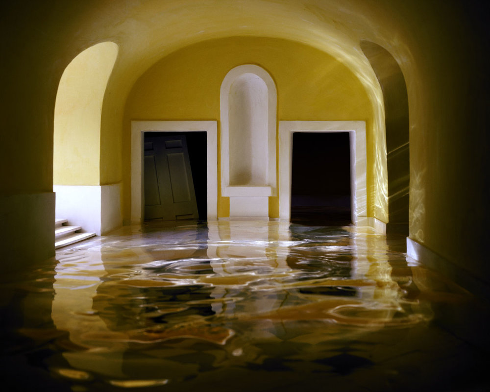 Yellow Hallway #1 , 2001