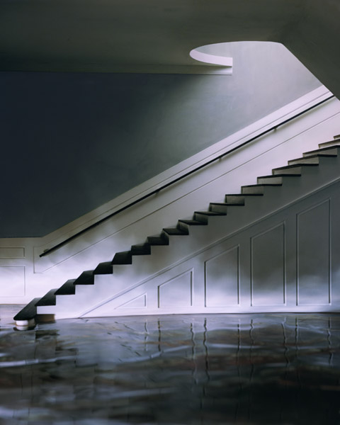 Green Staircase #3 , 2002