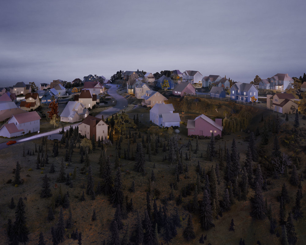 Landscape with Houses (Dutchess County, NY) #3 , 2010