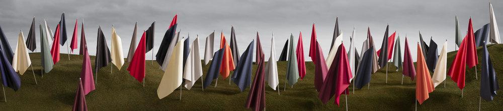Flags (frieze), 2016