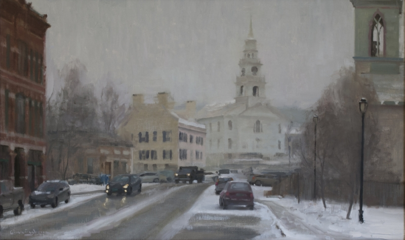 Middlebury Snow Fall