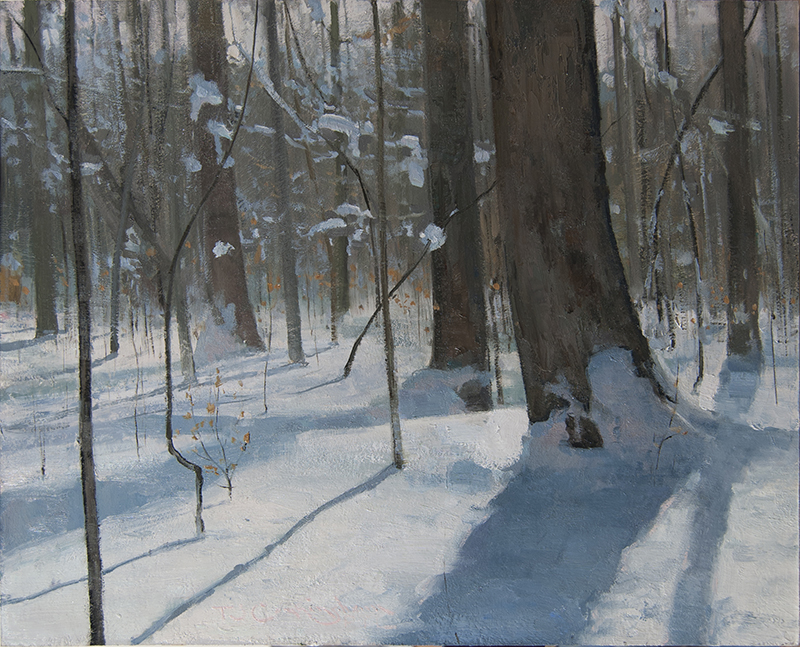 Nor'easter III, Oil on Panel, 16x20 inches, 2018 $2,250.jpg