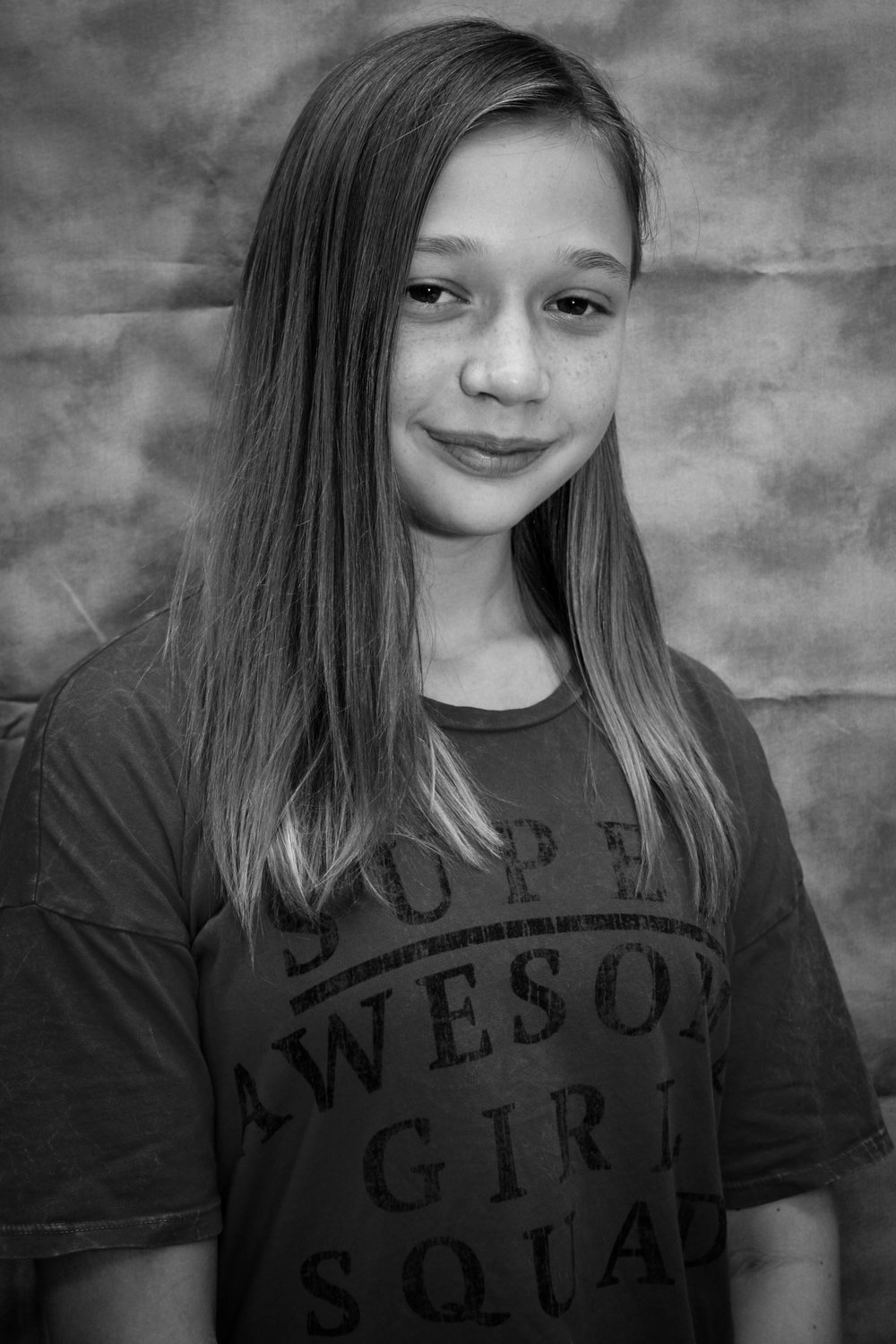 Squirrel, Cook, Candy Dancer - As a sixth grader this is Lucy's first show with Lamar, but not her first show overall. She has been in several shows from Kids Acting Studio. She also has dance experience and is in the Lamar fine arts dance program.