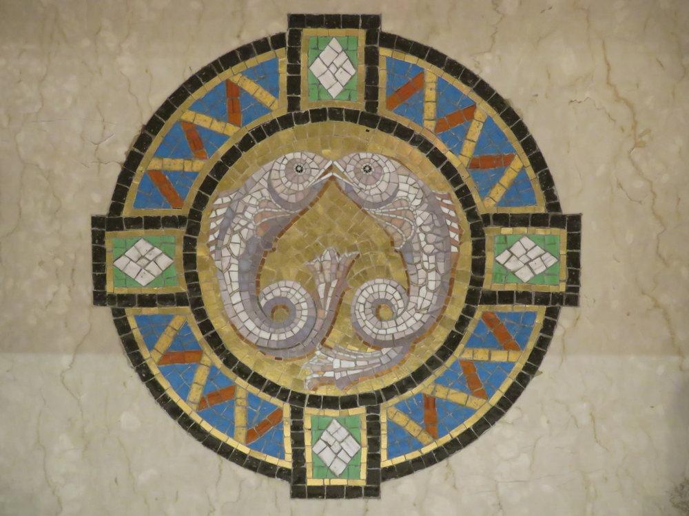 Jedna z mozaik ołtarzowych