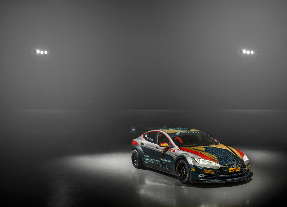 It does look snazzy, but would be nice to see some more electric creations. Photo: Electric GT