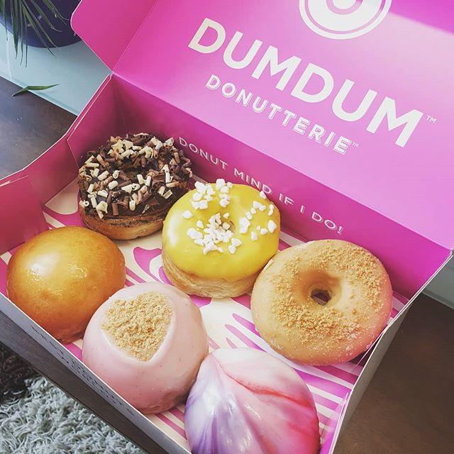 My goodness. I couldn't walk past these and not try them. The boys in the office seem to like them too! We'll ignore that diet for now... 🍩 Also I love that my return to Instagram is all about food.  #Doughnuts #Foodie #TheseAlmostLookTooGood