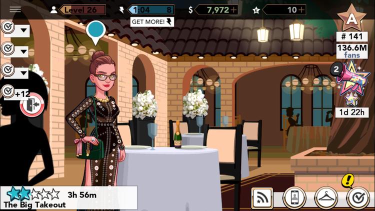 Kim Kardashian Hollywood.