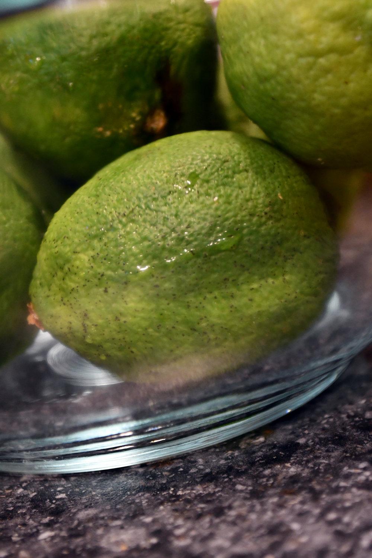 Use regular limes or key limes.