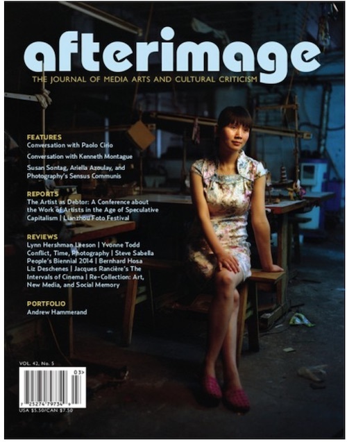 Afterimage Vol.42, No.5
