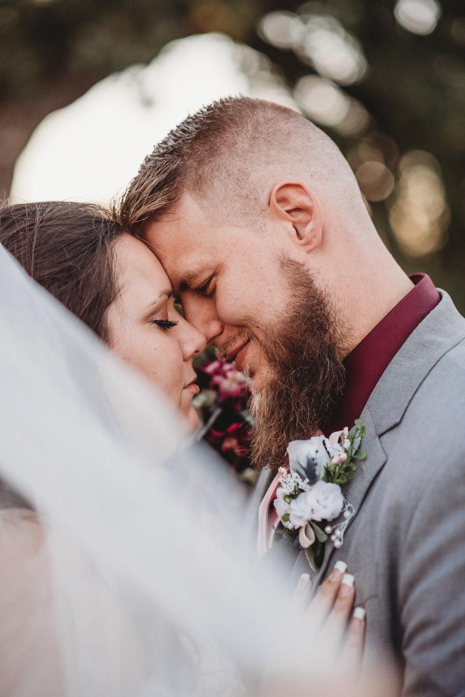 hutchinson kansas wedding photography, bride and groom portraits