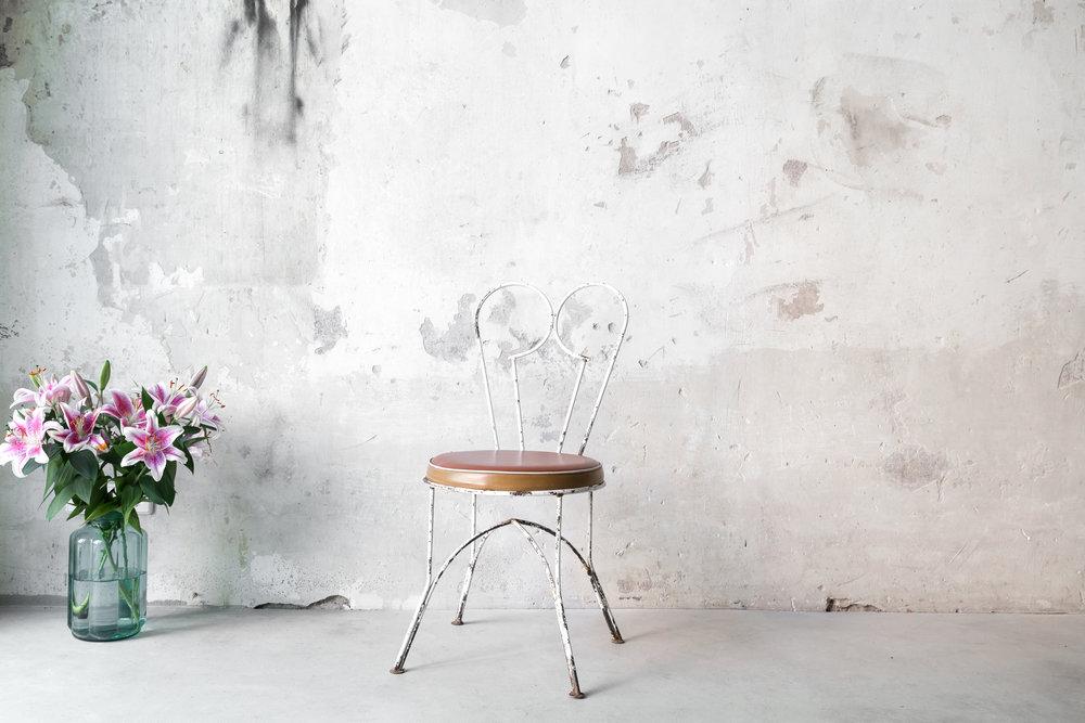 Stuhl Love ohne Lehne, 2 Stück