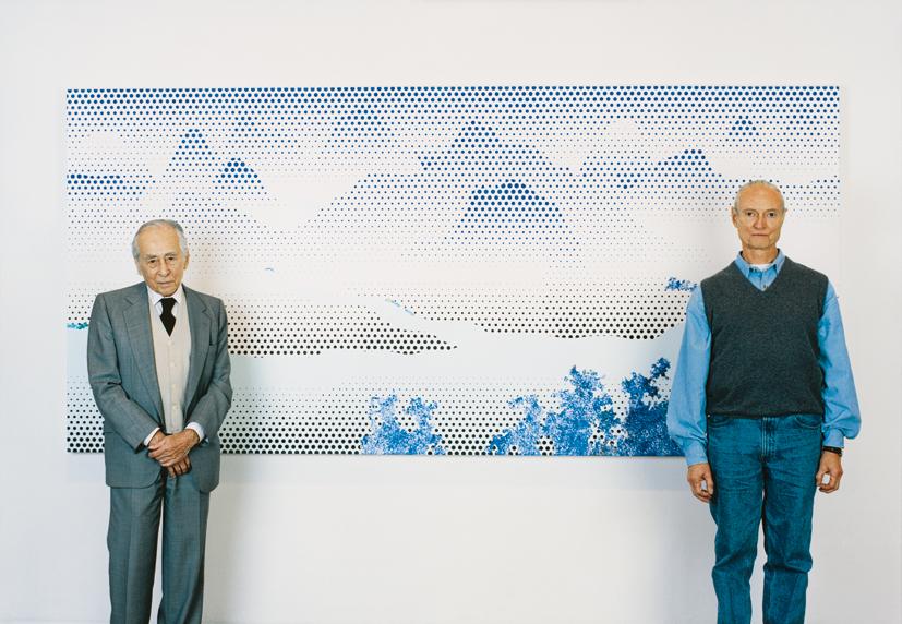 Roy Lichtenstein & Leo Castelli, NYC