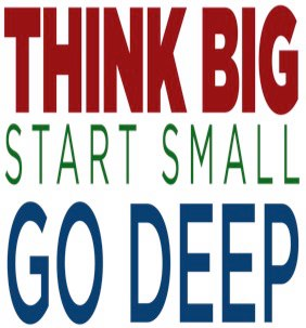 Think Big. Start Small. Go Deep