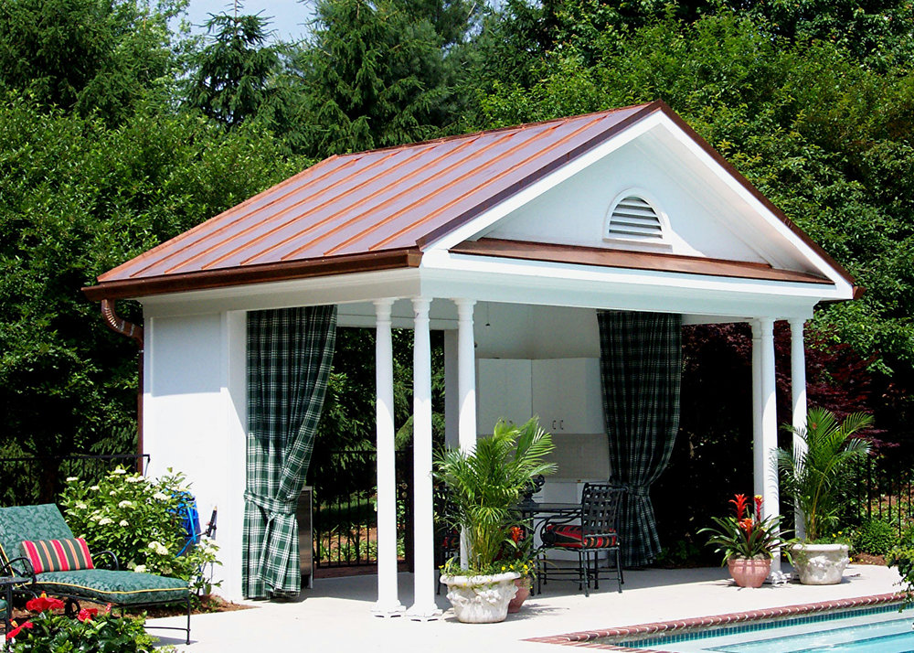 Cold Rolled Copper Box Gutter & Roofing (Custom fabricated and installed by Merrick-Kemper)