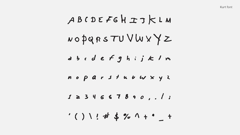 Шрифты на основе почерков музыкантов: пиши как Боуи, Кобейн или Леннон