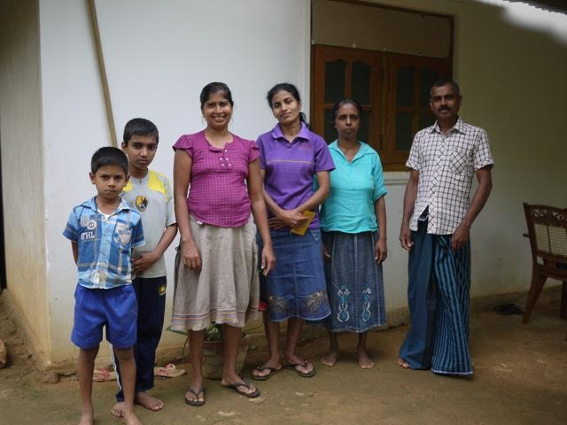 Smallholder farmers in Sri Lanka interviewed as part of the digital identity research