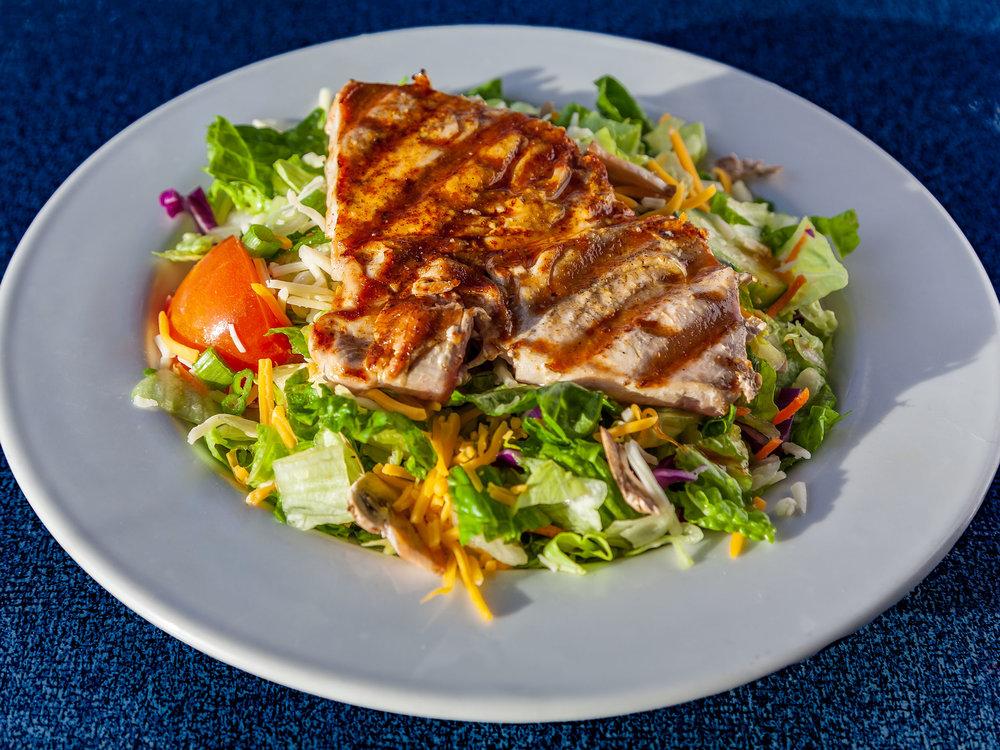 Charbroiled Ahi Salad
