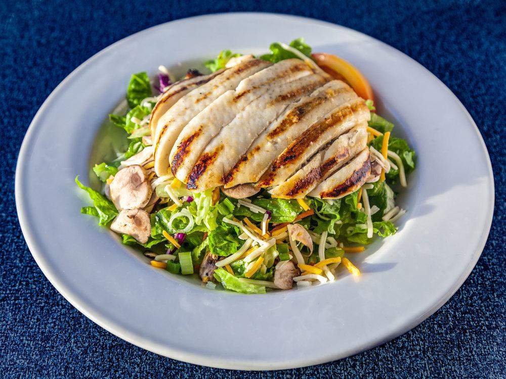 Charbroiled Calamari Salad