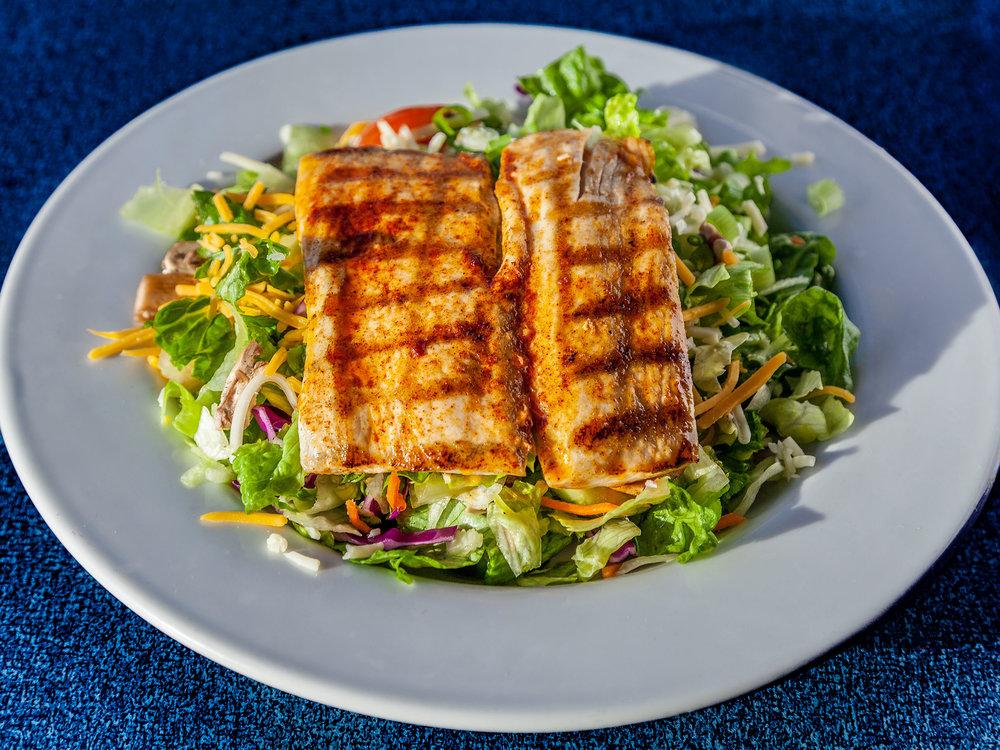 Charbroiled Mahi Salad
