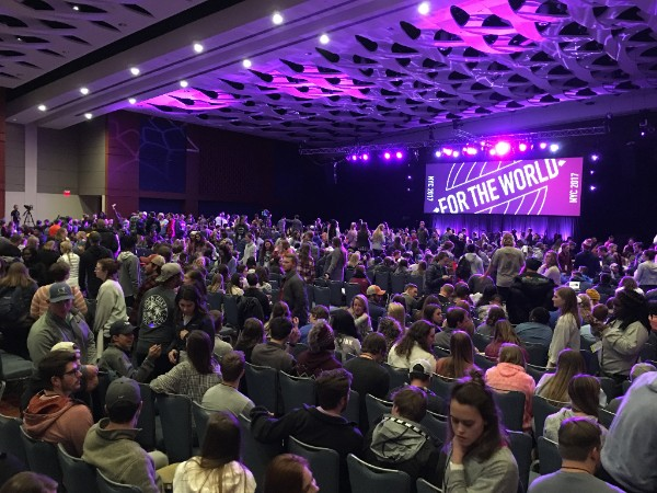 What could God do through the lives of 5,000 students? - In December,over 5,000 students attended one of the five Campus Outreach New Years Conferences. Students heard the gospel clearly presented by David Platt and Randy Pope, among others.For many of these students,it was the first time they had ever heard the gospel clearly articulated or seen Christians genuinely caring for the good of others.Every year the New Years Conferences are pivotal