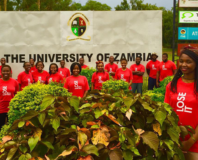 A South Africa CCP team to Zambia