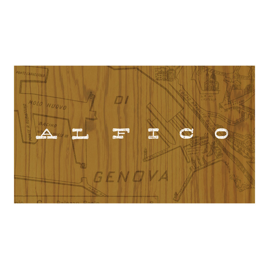 "Identity for AL Fico (""The fig""), an italian restaurant"