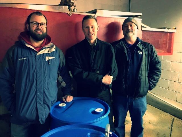 The happy winemakers – Kirk, Shane & Jason
