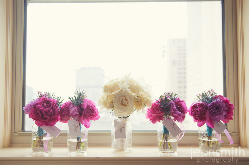 modern wedding flowers by red poppy floral design