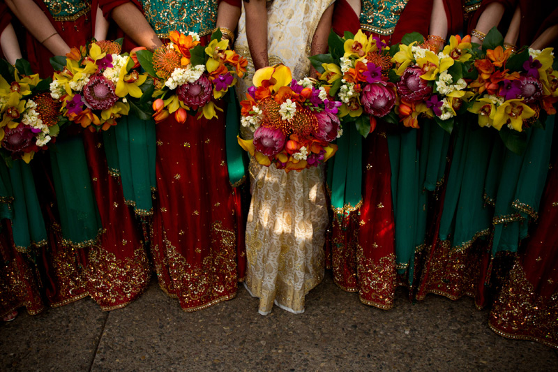 colorful flowers for indian wedding ann arbor michigan