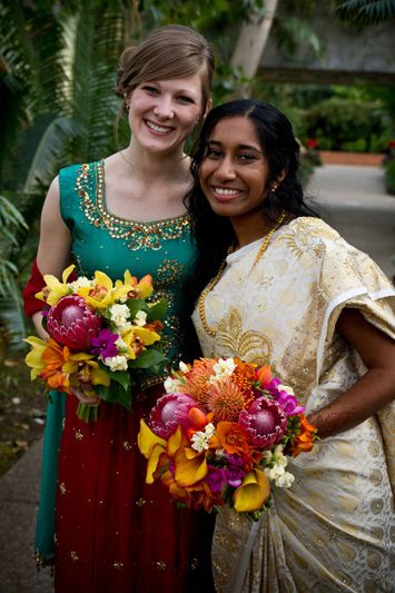 bright wedding flowers indian wedding ann arbor