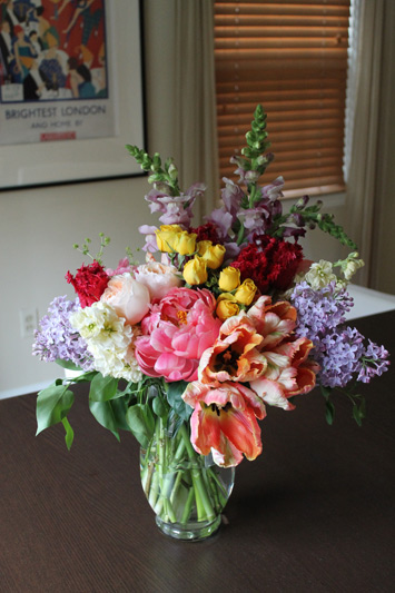 mothers day flowers by red poppy floral design