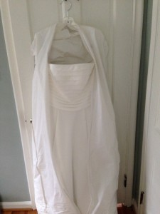 wedding dress donated to the brides project