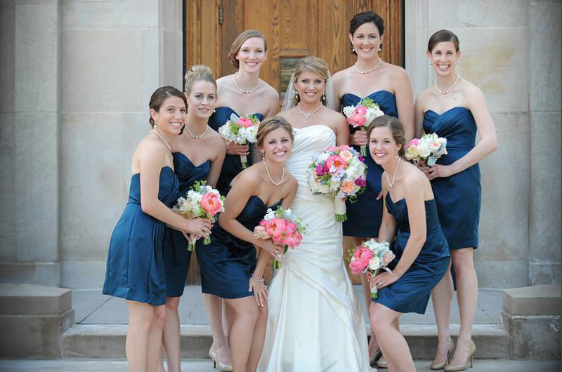 University of Michigan Union wedding