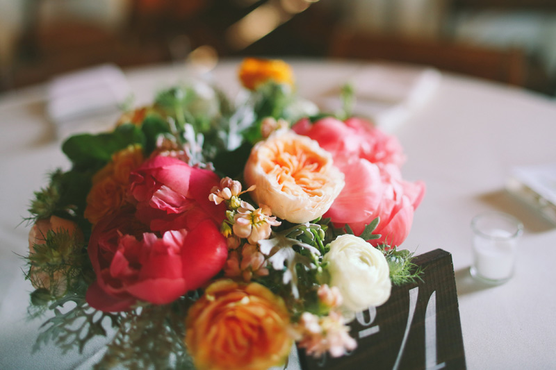 rustic misty farm wedding centerpiece ann arbor michigan
