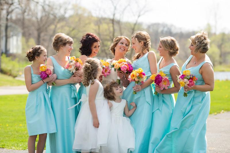 wedding party at waldenwoods michigan