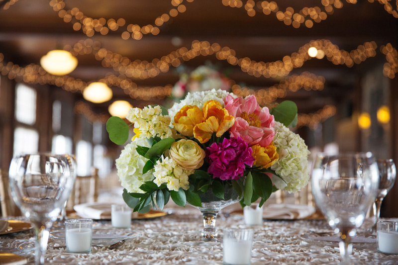 wedding centerpiece flowers by red poppy floral design