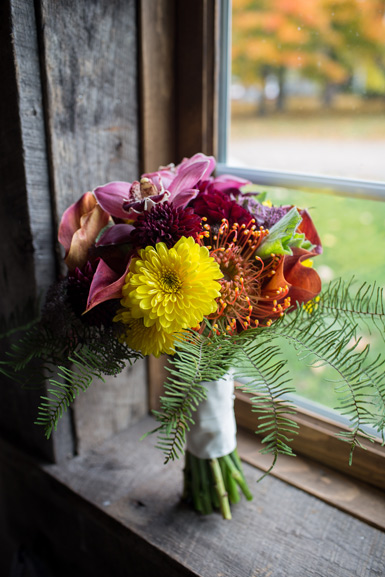 fall wedding bouquet by florist red poppy floral design ann arbor