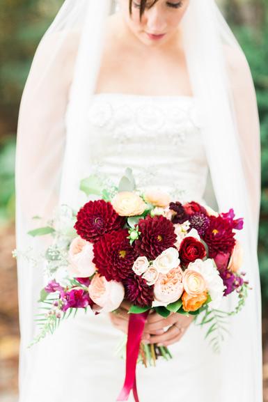 autumn wedding bouquet matthaei botanical gardens ann arbor