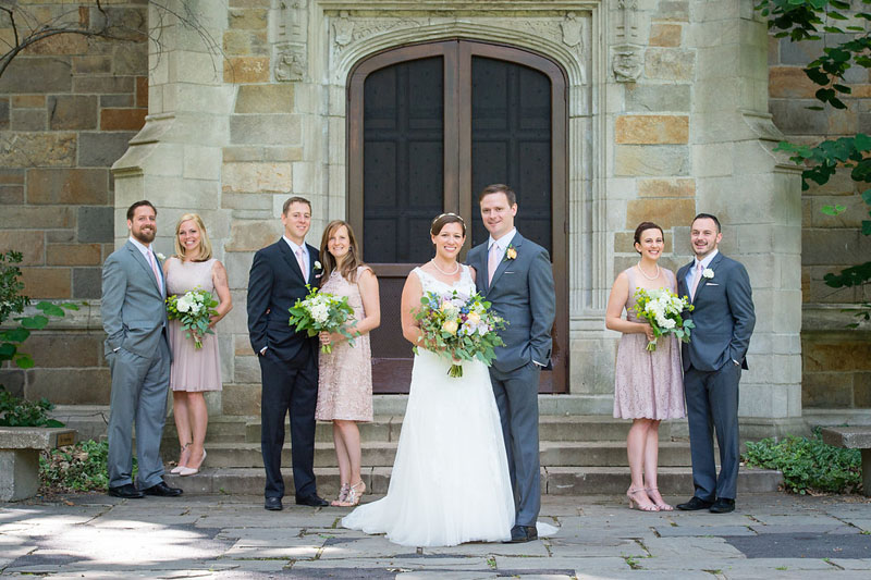 ann arbor wedding university of michigan law quad