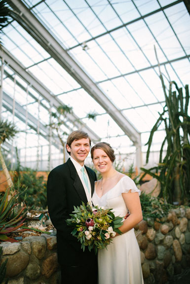 december wedding matthaei botanical gardens ann arbor