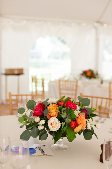 reception flowers centerpiece
