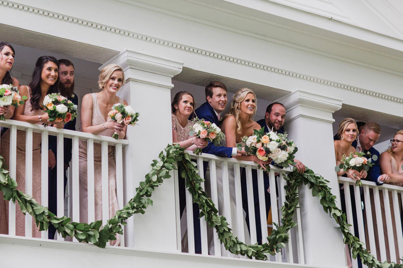 zingermans cornman farms white house wedding ceremony garland